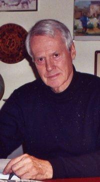 Ned in New York, 2003.